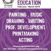 Arts Education: Spring & Summer Semester
