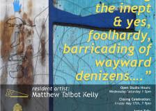 Resident Artist Matthew Talbot-Kelly